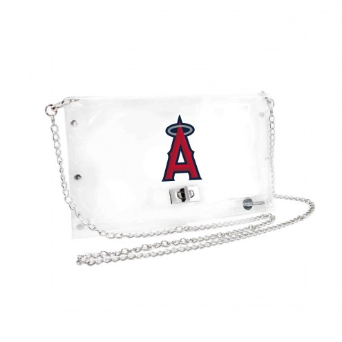 Los Angeles Angels Clear Envelope Purse