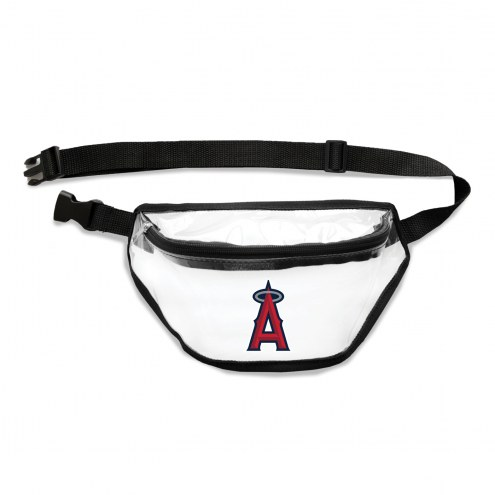 Los Angeles Angels Clear Fanny Pack