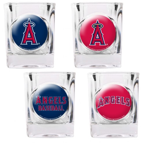 Los Angeles Angels Collector's Shot Glass Set