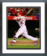 Los Angeles Angels Collin Cowgill Action Framed Photo