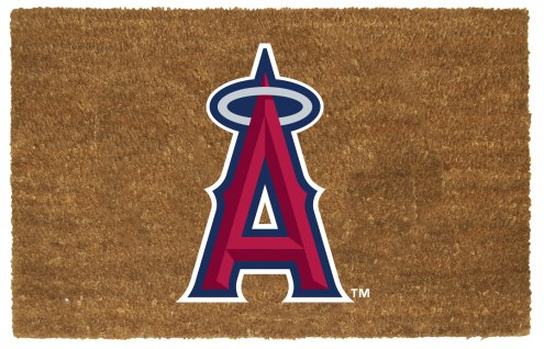 Los Angeles Angels Colored Logo Door Mat