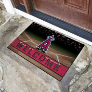 Los Angeles Angels Crumb Rubber Door Mat