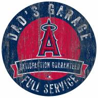 Los Angeles Angels Dad's Garage Sign