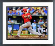 Los Angeles Angels David Freese Action Framed Photo