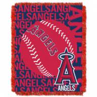 Los Angeles Angels Double Play Jacquard Throw Blanket