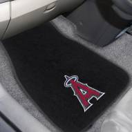 Los Angeles Angels Embroidered Car Mats