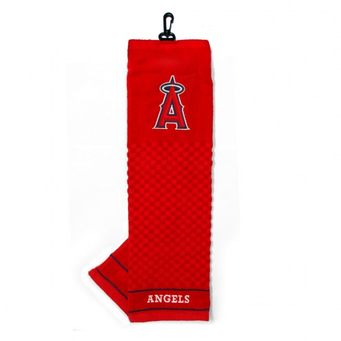 Los Angeles Angels Embroidered Golf Towel