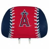 Los Angeles Angels Full Print Headrest Covers