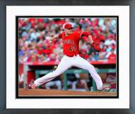 Los Angeles Angels Garrett Richards Action Framed Photo