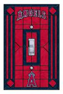 Los Angeles Angels Glass Single Light Switch Plate Cover