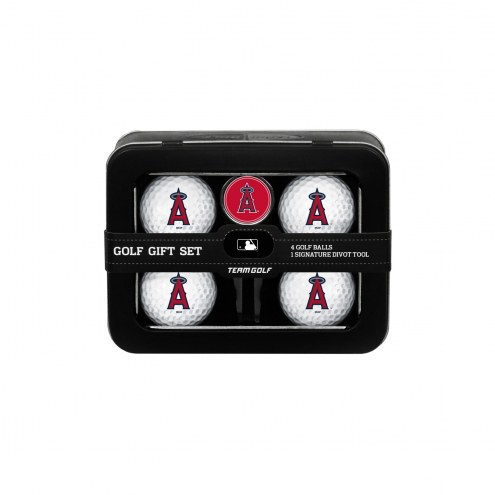 Los Angeles Angels Golf Ball & Divot Tool Gift Set