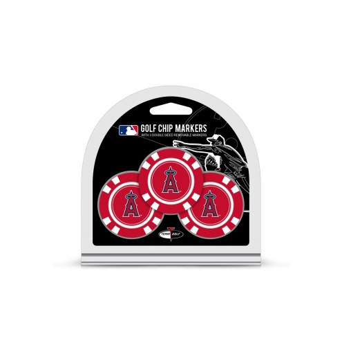 Los Angeles Angels Golf Chip Ball Markers