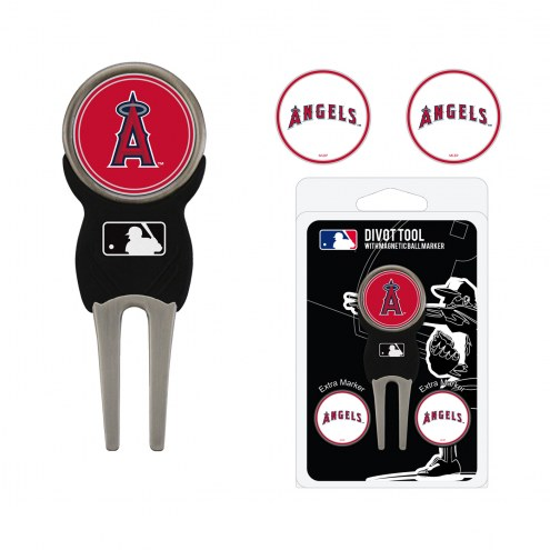 Los Angeles Angels Golf Divot Tool Pack