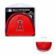 Los Angeles Angels Golf Mallet Putter Cover