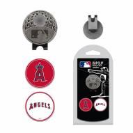 Los Angeles Angels Hat Clip & Marker Set