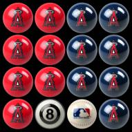 Los Angeles Angels Home vs. Away Pool Ball Set