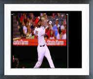 Los Angeles Angels Howie Kendrick Action Framed Photo