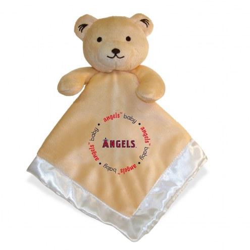 Los Angeles Angels Infant Bear Security Blanket