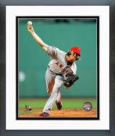 Los Angeles Angels Jered Weaver Action Framed Photo