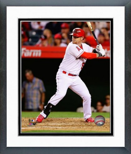 Los Angeles Angels Kole Calhoun 2014 Action Framed Photo