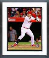 Los Angeles Angels Kole Calhoun Action Framed Photo