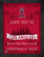 Los Angeles Angels Love You to and Back Framed Print