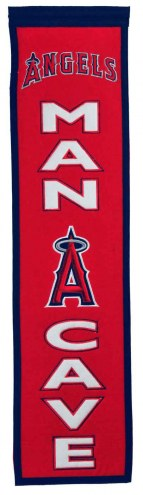 Los Angeles Angels Man Cave Banner
