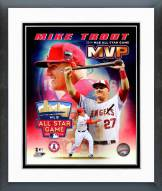 Los Angeles Angels Mike Trout All Star Game MVP Framed Photo