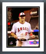 Los Angeles Angels Mike Trout All-Star Game MVP Trophy Framed Photo
