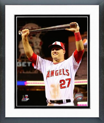 Los Angeles Angels Mike Trout MLB All-Star Game Action Framed Photo