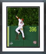 Los Angeles Angels Mike Trout Action Framed Photo