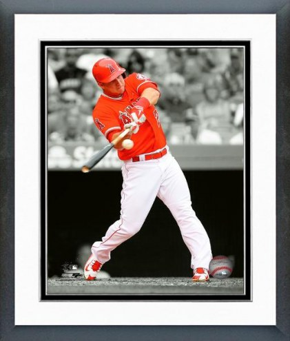 Los Angeles Angels Mike Trout Spotlight Action Framed Photo