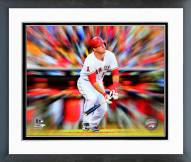 Los Angeles Angels Mike Trout Motion Blast Framed Photo