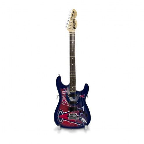 Los Angeles Angels Mini Replica Guitar