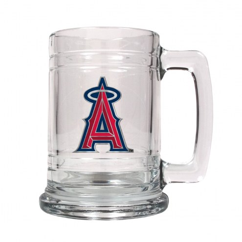 Los Angeles Angels of Anaheim MLB 2-Piece Glass Tankard Beer Mug Set