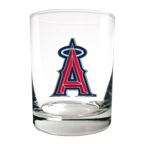 Los Angeles Angels of Anaheim MLB 2-Piece 14 Oz. Rocks Glass Set