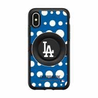 Los Angeles Angels OtterBox Symmetry Polka Dot PopSocket iPhone Case