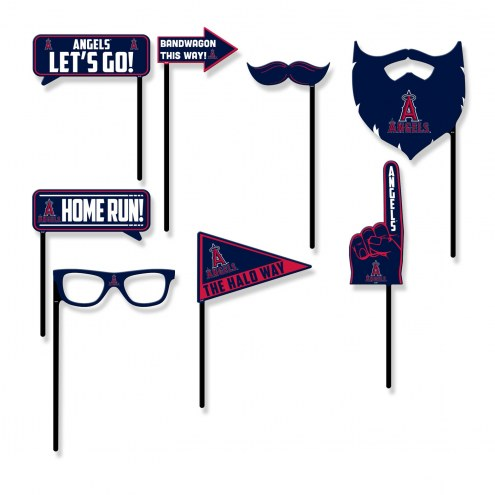 Los Angeles Angels Party Props Selfie Kit