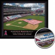 Los Angeles Angels Personalized Framed Stadium Print