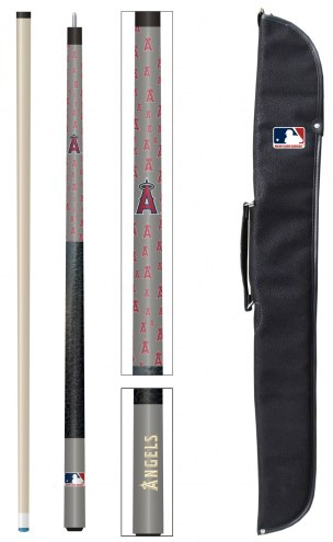 Los Angeles Angels Pool Cue & Case Set