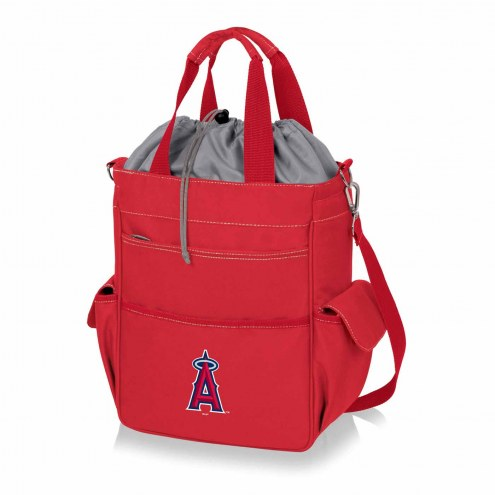 Los Angeles Angels Red Activo Cooler Tote