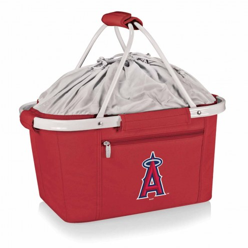 Los Angeles Angels Red Metro Picnic Basket