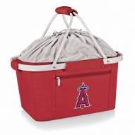 Los Angeles Angels Red Metro Picnic Basket