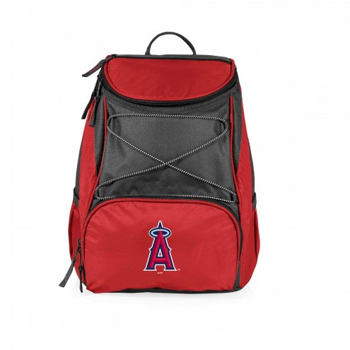 Los Angeles Angels Red PTX Backpack Cooler