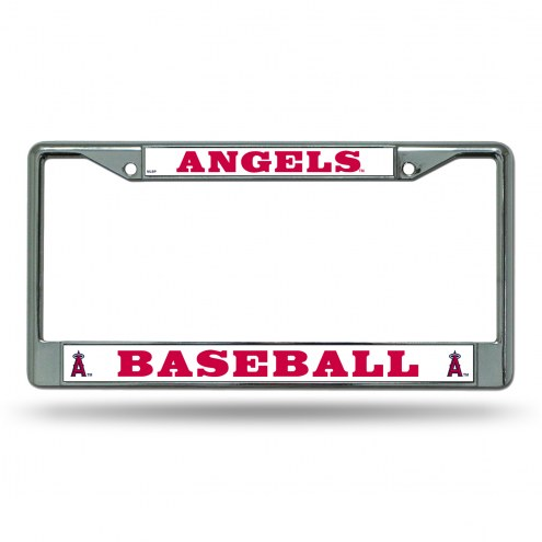 Los Angeles Angels Chrome License Plate Frame