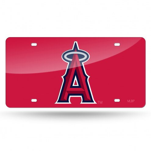 Los Angeles Angels Rico Laser Cut License Plate