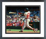Los Angeles Angels Rod Carew 1983 Action Framed Photo
