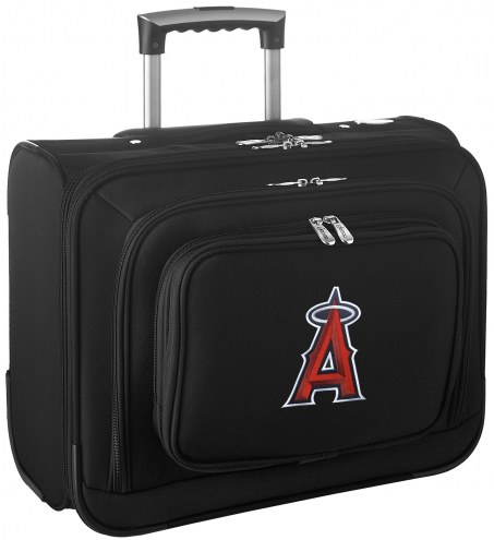 Los Angeles Angels Rolling Laptop Overnighter Bag