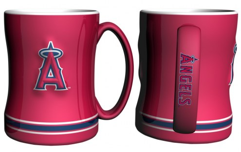 Los Angeles Angels Sculpted Relief Coffee Mug