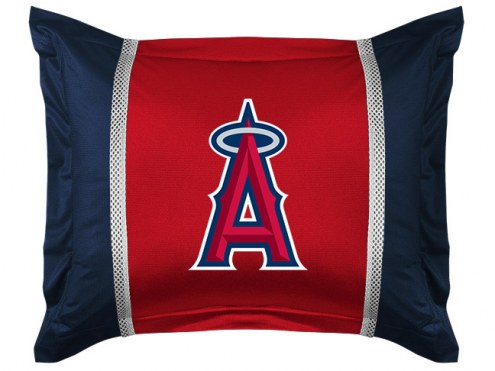 Los Angeles Angels Sidelines Pillow Sham